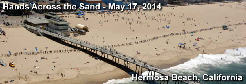 Some 600+ very smart people in Hermosa Beach on May 17, 2014