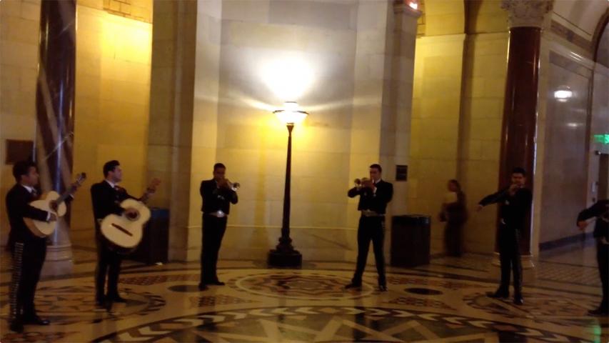 Serenade to a Bag Ban - LA City Hall Rotunda - June 25, 2013